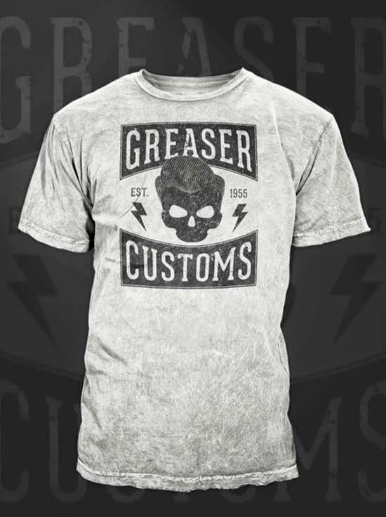How To Create a Vintage Style Greaser T-Shirt Design