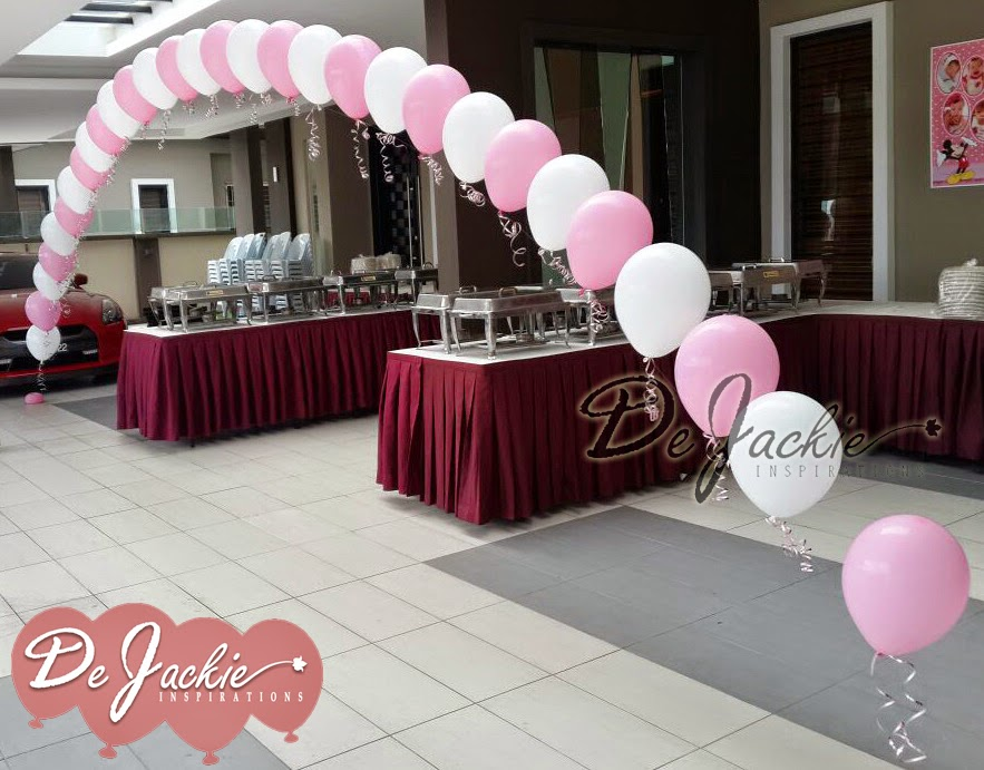 Balloon Decoration for House Warming cum Birthday