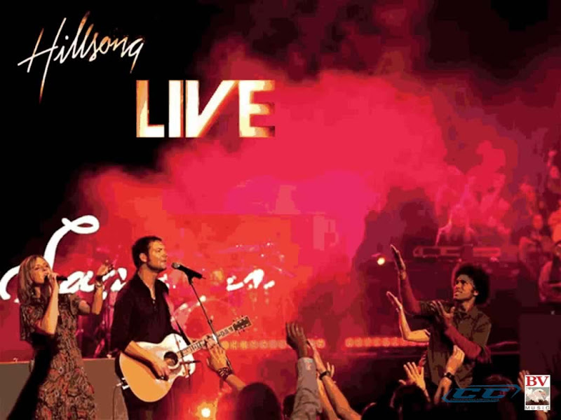 Hillsong Live band performing live on stage casting Darlene Zchech and other members of Hillsong Team