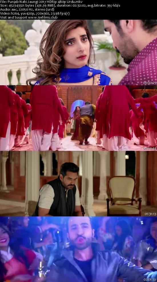 Punjab Nahi Jaungi 2017 HDRip 480p Urdu