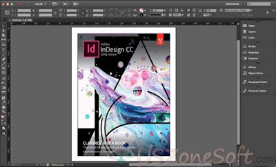 Adobe InDesign CC 2018 Full Offline Installer Direct Download Official Links, Digital Magazines, Banner, Books, Brochures and any Interactive Online Documents, logo designer and print