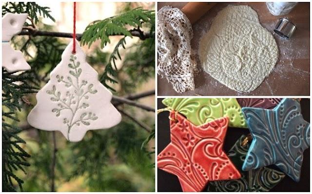DIY Χριστουγεννιάτικα Στολίδια με Ζύμη Σόδας