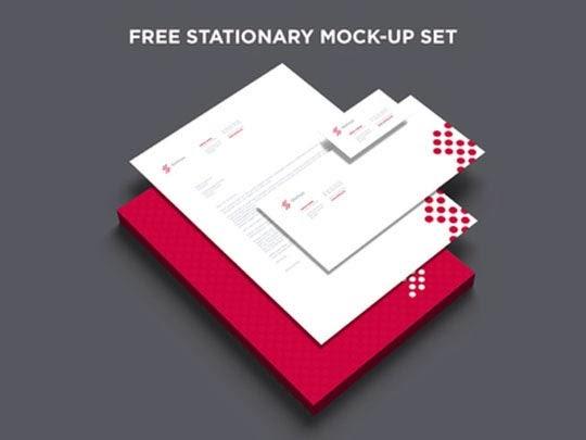 Free Branding & Stationary Mockup SET