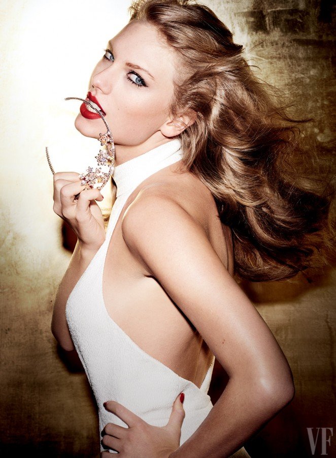 Taylor Swift goes glamorous for Vanity Fair September 2015