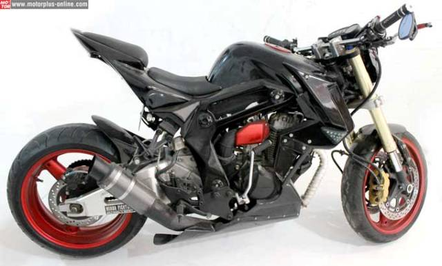 Modifikasi Honda Tiger Terbaru Black