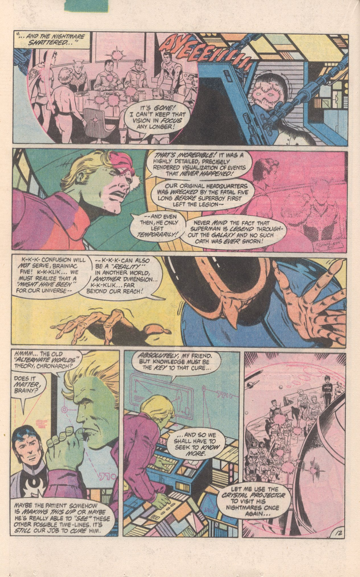 Legion of Super-Heroes (1980) 300 Page 12