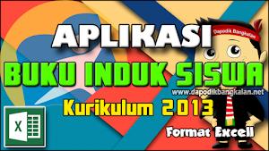 APLIKASI Buku Induk K13 disertai Video Panduan