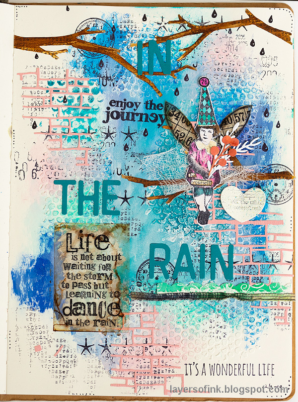 Dance in the rain tutorial