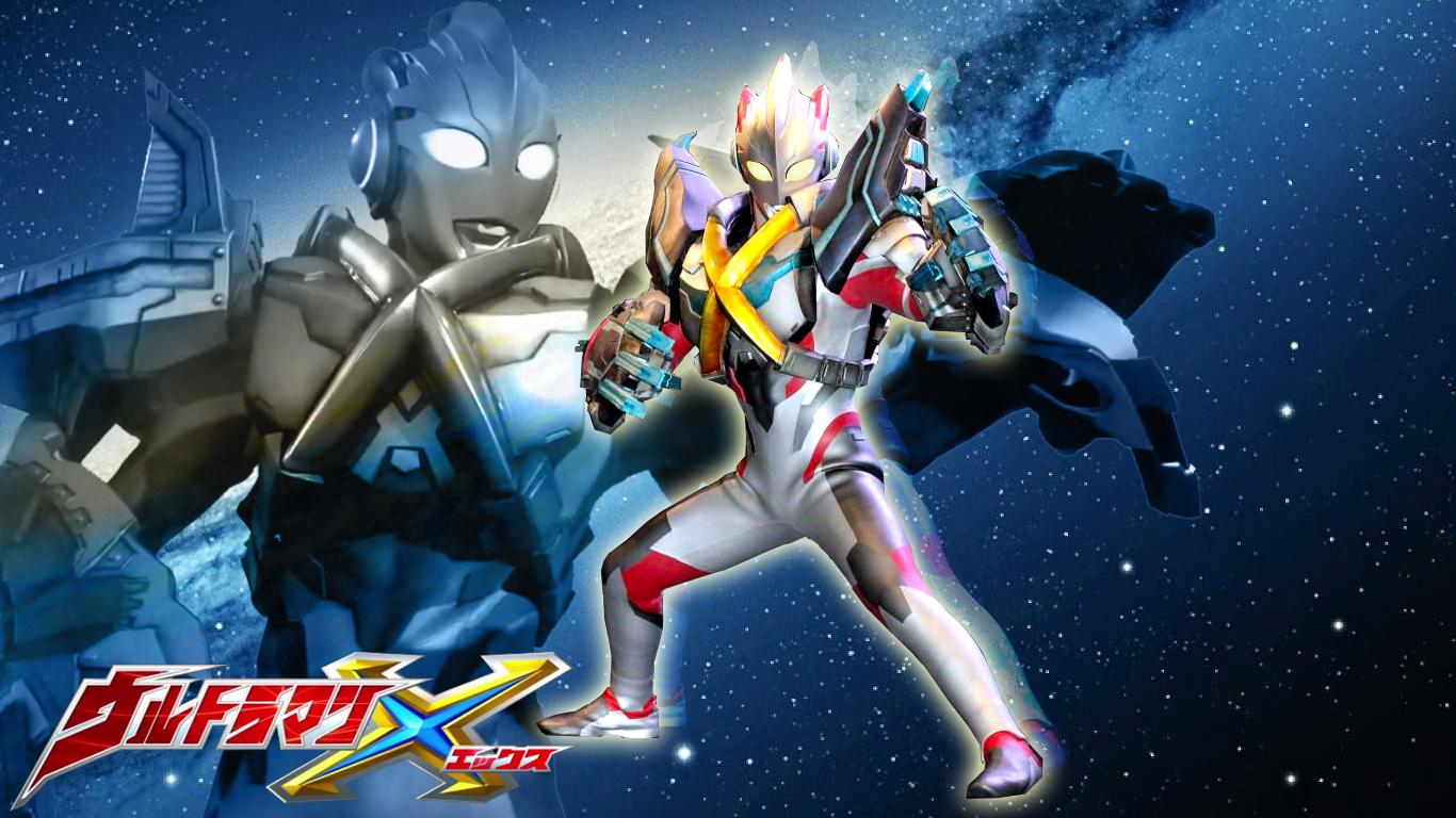Tokusatsu Wallpaper Ultraman X Armor