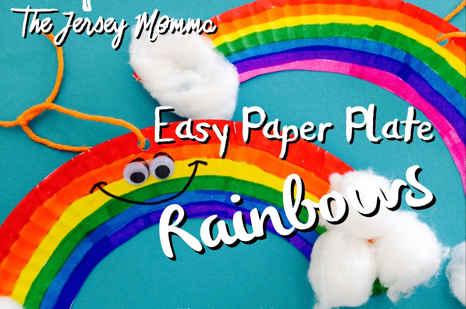 Follow my simple steps below to make your very own paper plate rainbows. This is a great rainy day craft too and not just for St. Patrick\u0027s Day!  sc 1 st  The Jersey Momma & The Jersey Momma: Easy St. Patrick\u0027s Day Crafts: Paper Plate Rainbows