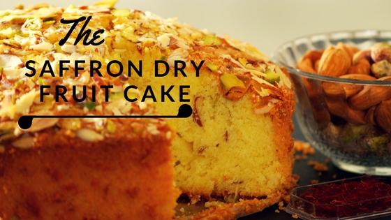 Saffron Dry Fruit Cake Recipe Video - Kesar Pista Badam Cake video - Love cake