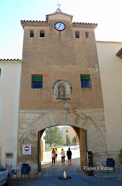 Puerta de Prades del Monasterio de Poblet, Tarragona