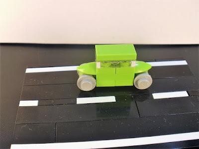 MOC LEGO Nano Carros Verdes