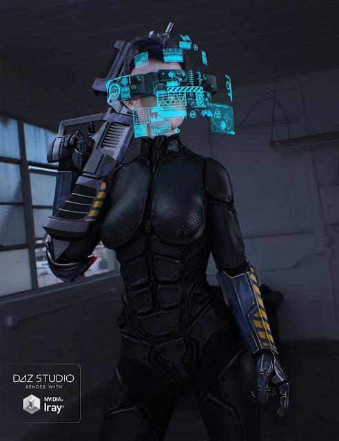 Sci-Fi Head Gear for Genesis 3