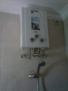 Gejala-Gejala Unit Water Heater akan rusak