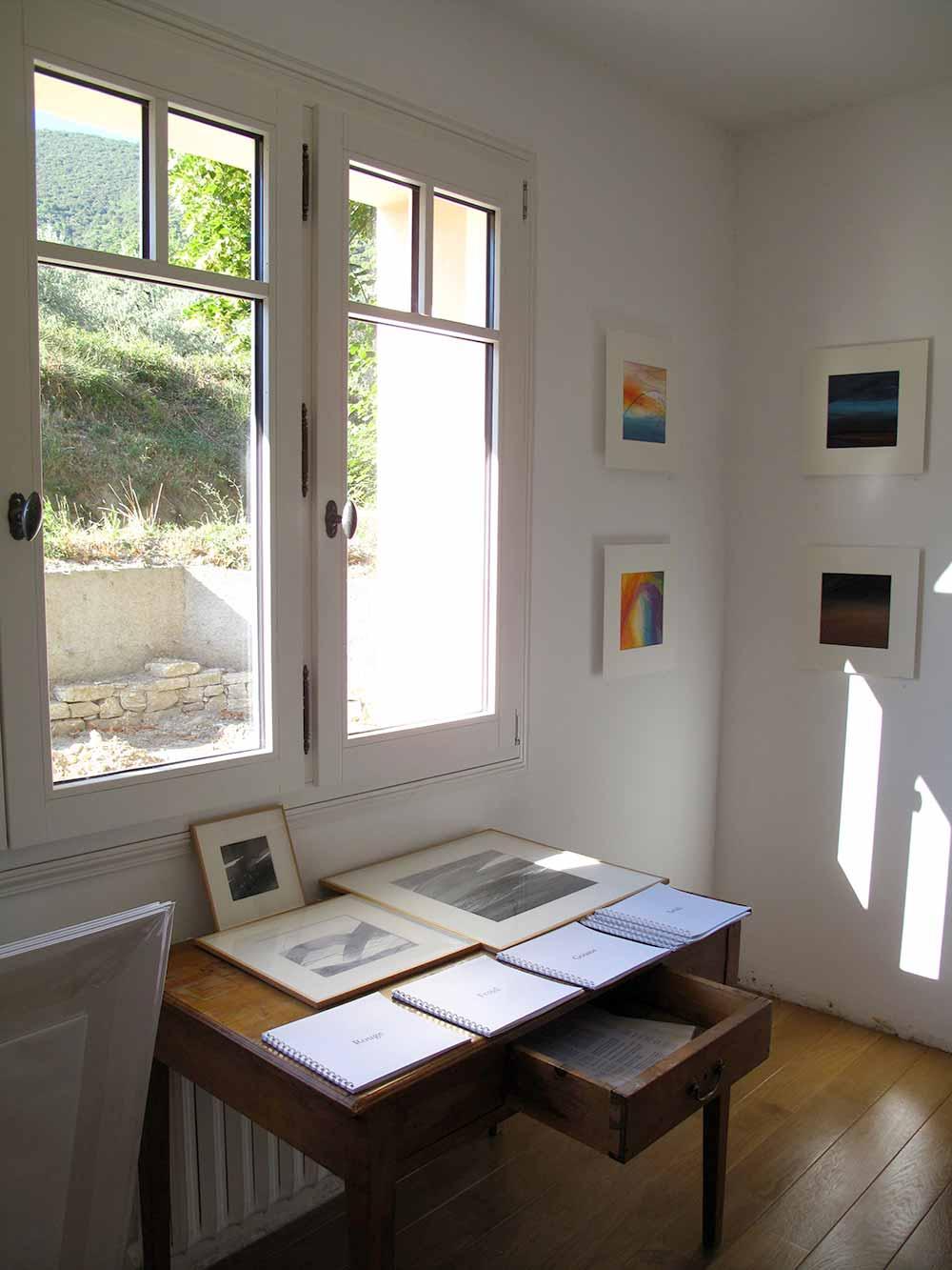 Exposition à l'atelier 2014