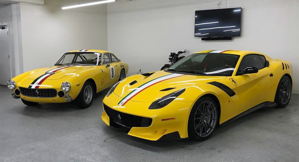 Ferrari Games >> This Collector Ordered A Ferrari F12 TdF To Match His '64 ...