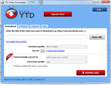 YTD Video Downloader - Unduh YouTube
