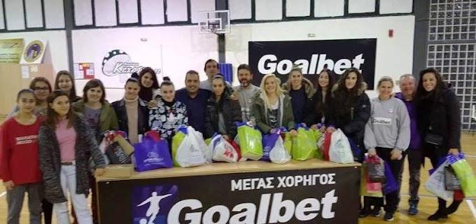 Με ευχές, μπάρμπεκιου και δώρα η γιορτή του γυναικείου τμήματος του Παναθλητικού Goalbet-Φωτορεπορτάζ