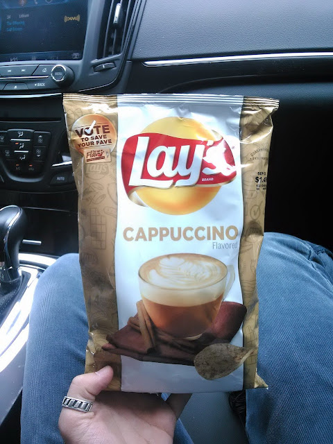 Lays with capuccino taste