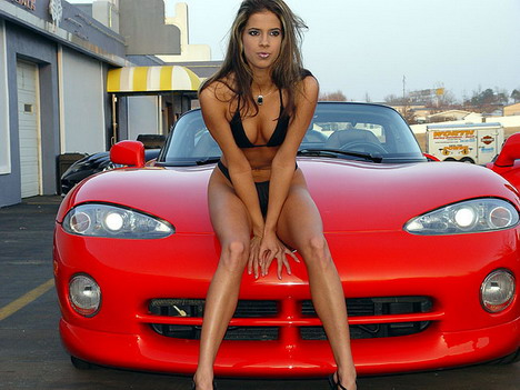 Hot women and exotic cars