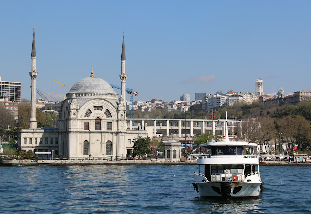 Along Bosphorus Cruise Tour in European side of Istanbul, Turkey