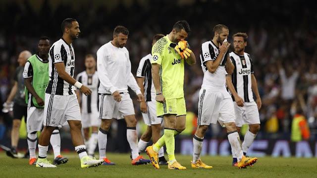 Juventus Tercatat Sudah Tujuh Kali Harus Gagal di Final Liga Champions