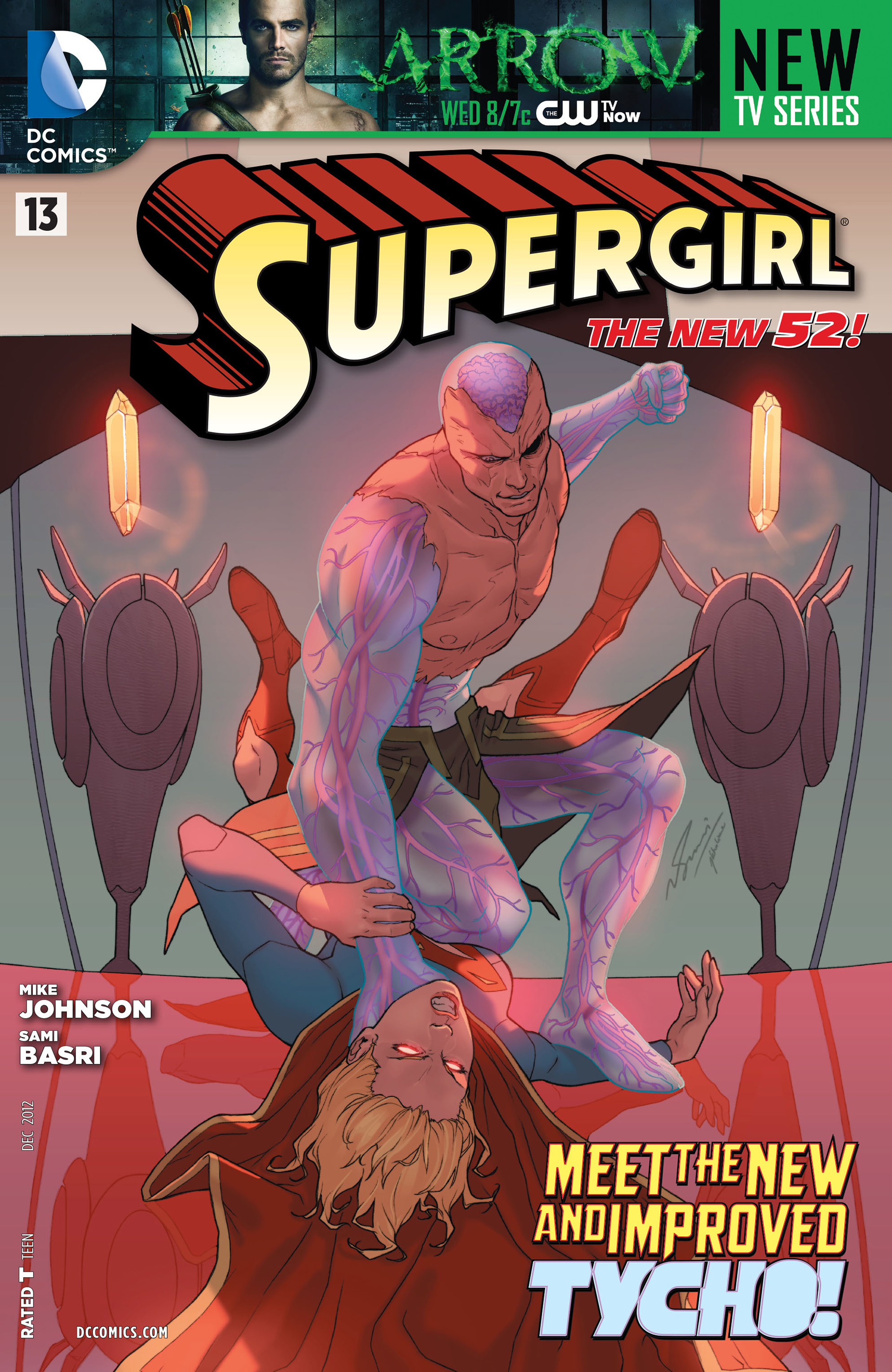 Supergirl (2011) issue 13 - Page 1