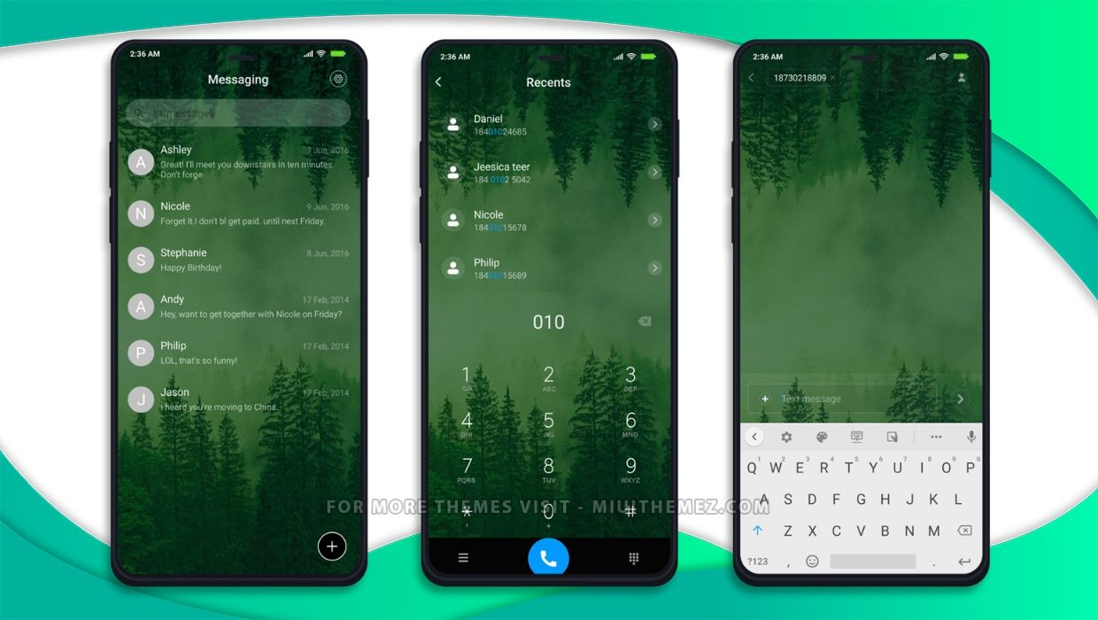 The Green Grid 3MDP MIUI Theme