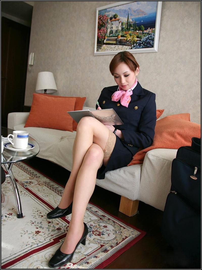Stewardess fickt