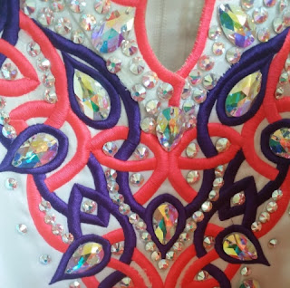 irish dance dress close up3