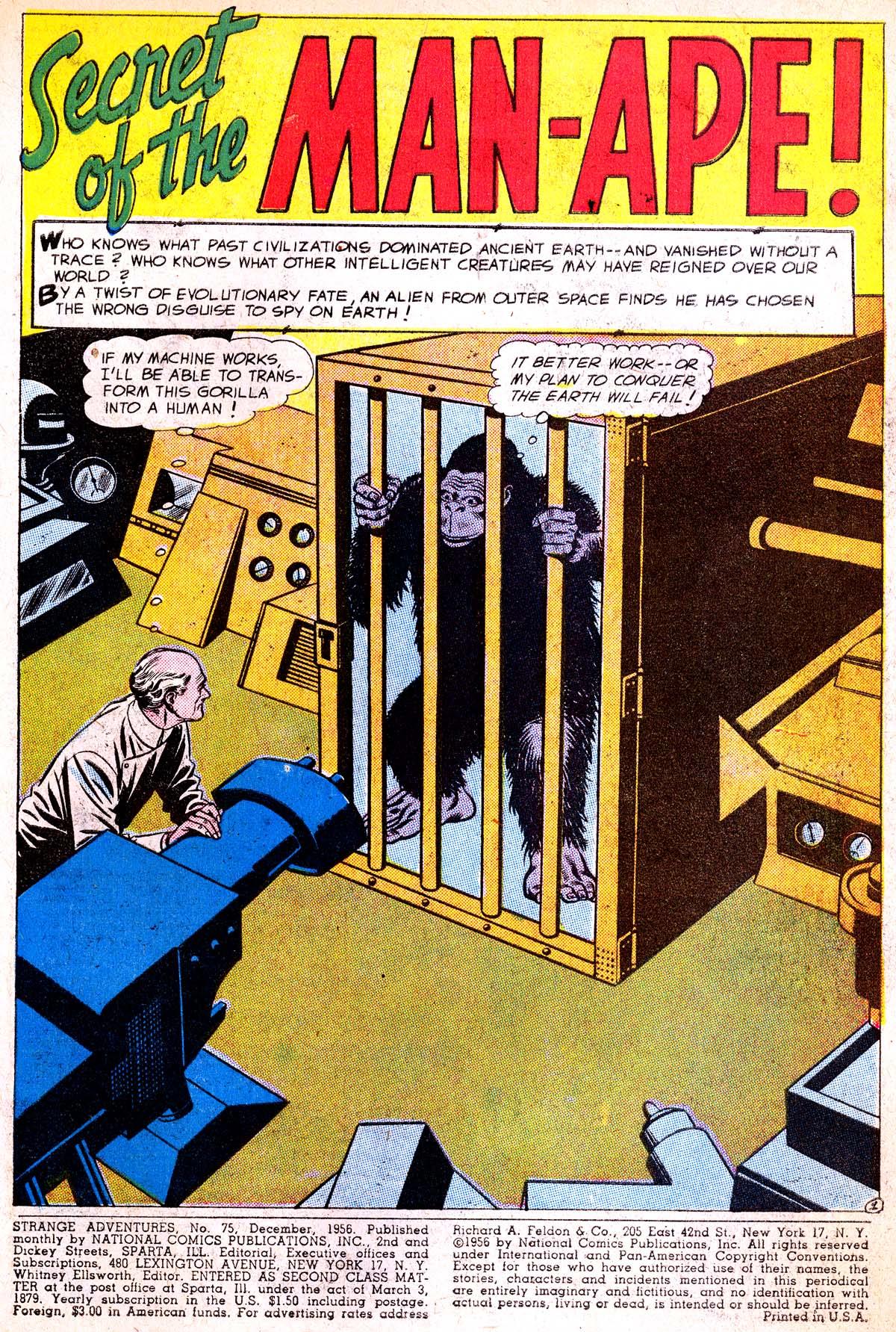 Strange Adventures (1950) issue 75 - Page 3