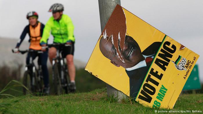 Poster of President Jacob Zuma
