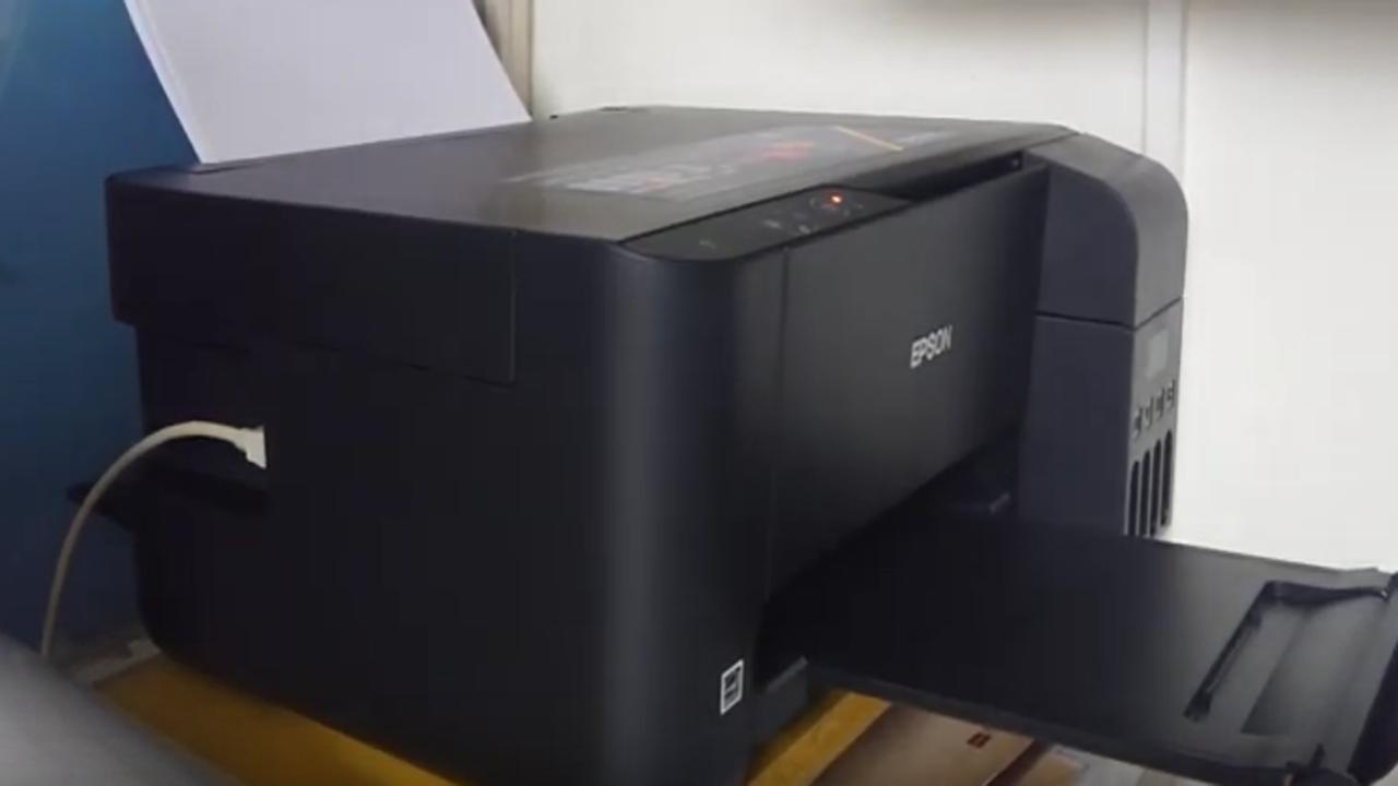 Pertama Kali Instal Driver dan Isi Tinta Printer Epson L3110