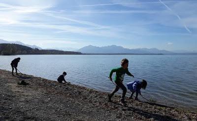 Wanderungen ó Spazieren gehen – por el lago Chiemsee