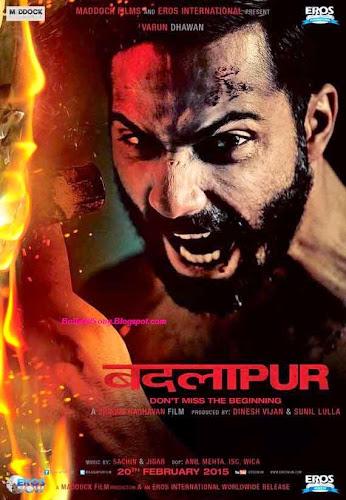 Badlapur (2015) Movie Poster No. 1