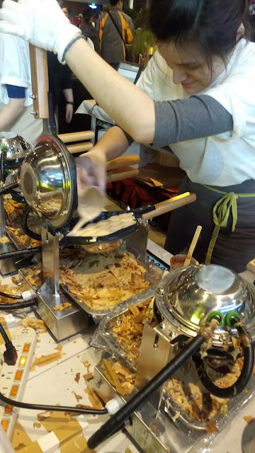 台北 美食 品品雞蛋仔