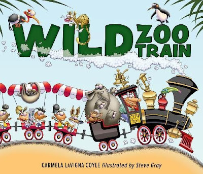Filled with train sounds and animals, The Wild Zoo Train will be a hit with toddlers and preschool age kids!