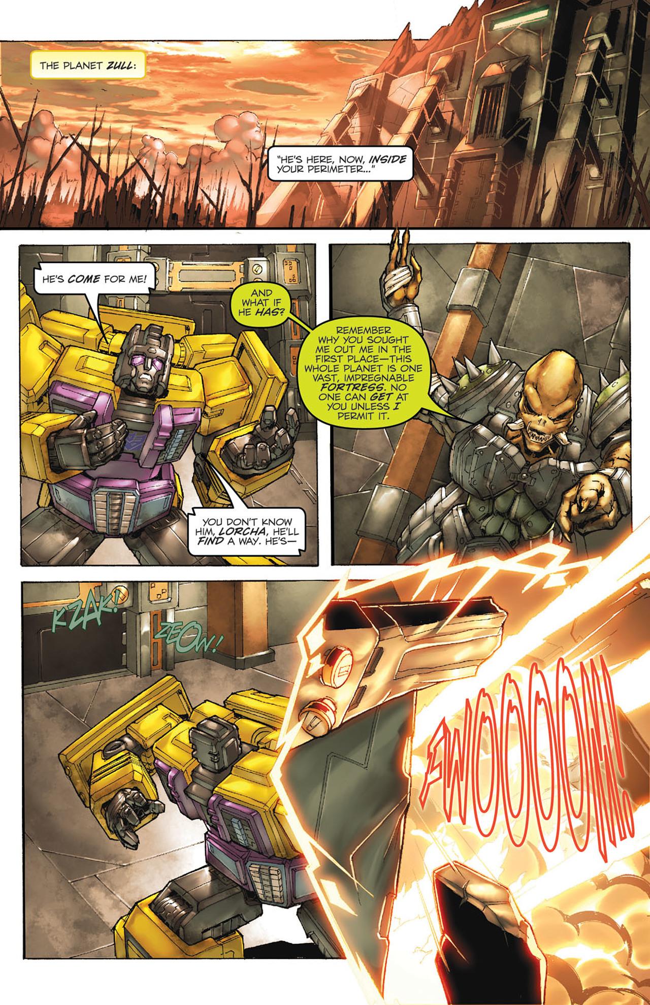 Read online Transformers Spotlight: Ultra Magnus comic -  Issue # Full - 3