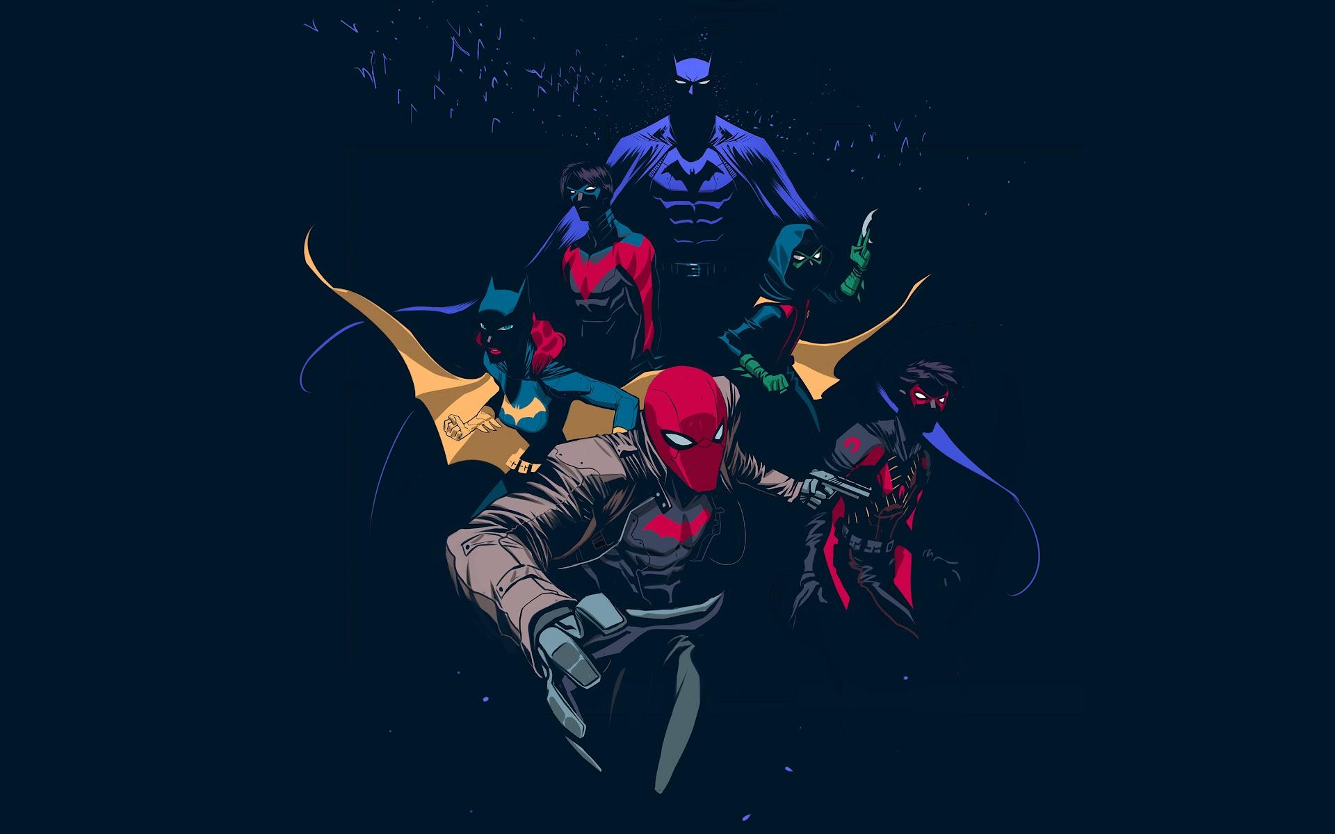 Batman Family 4k Wallpaper 125