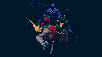 Batman, Family, 4K, #125