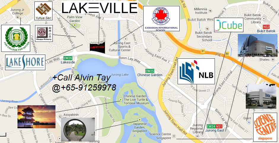 Jurong LakeVille Location Map