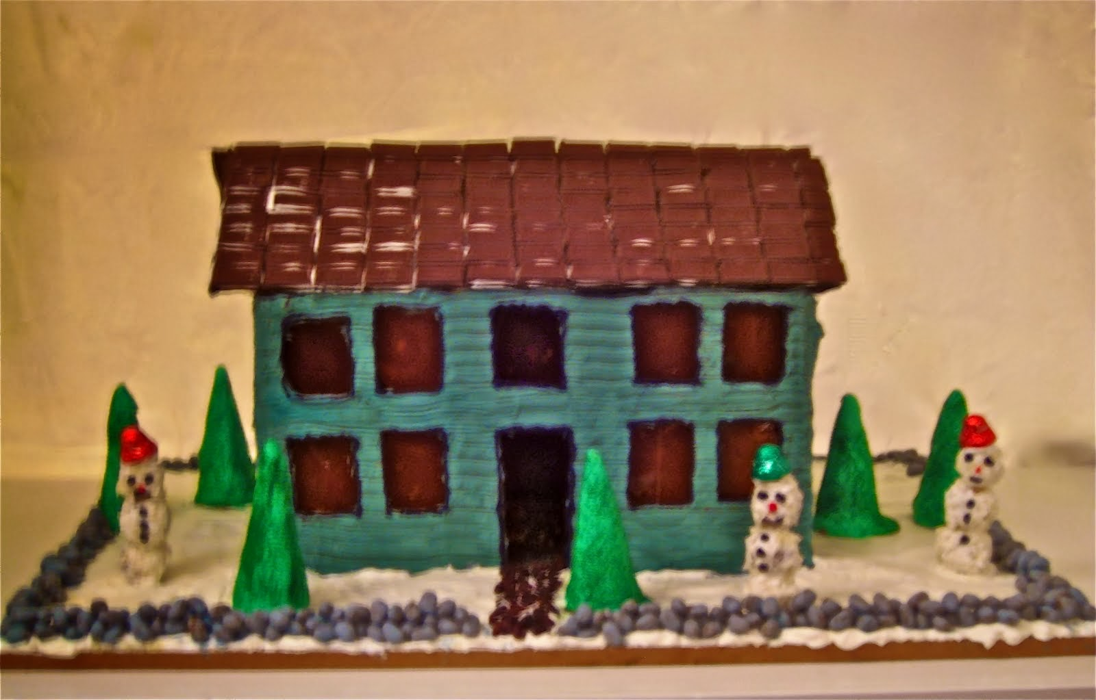 The Old Manse in gingerbread