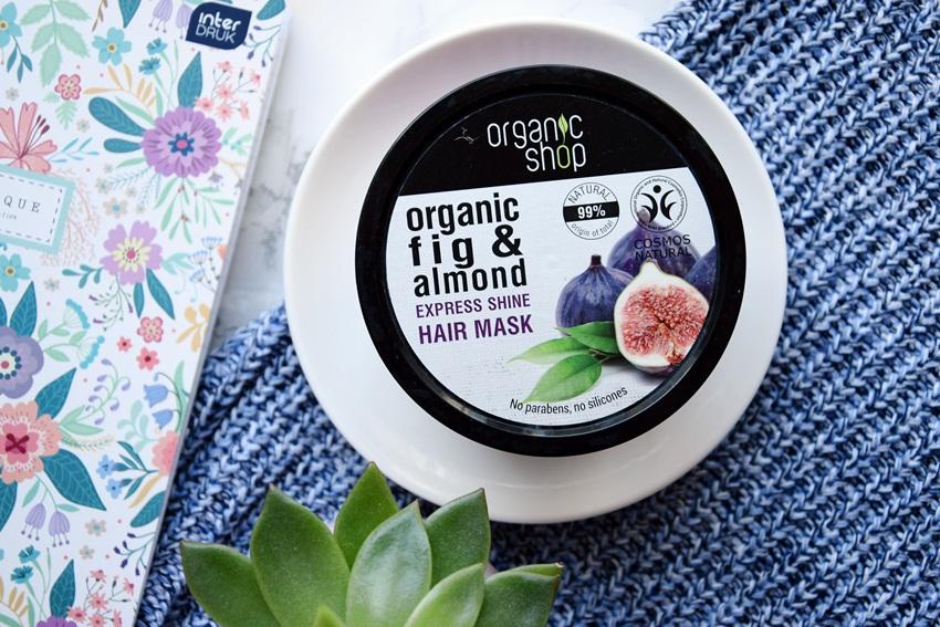 maska do włosów organic shop