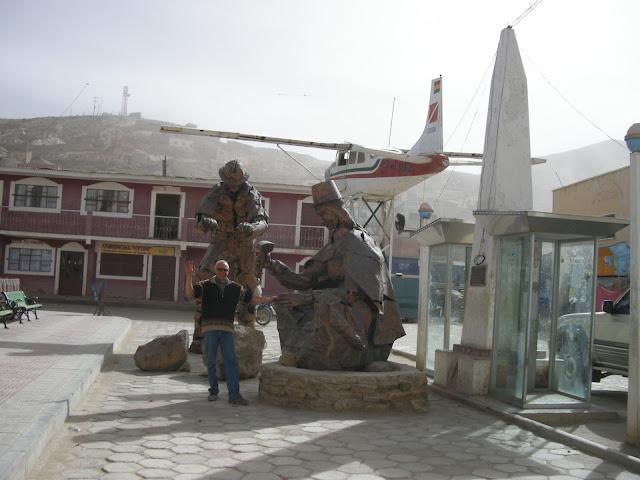 P. Dietmar in Uyuni Bolivien