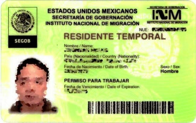 Emigrantes En Mexico Renovacion Residente Temporal Por