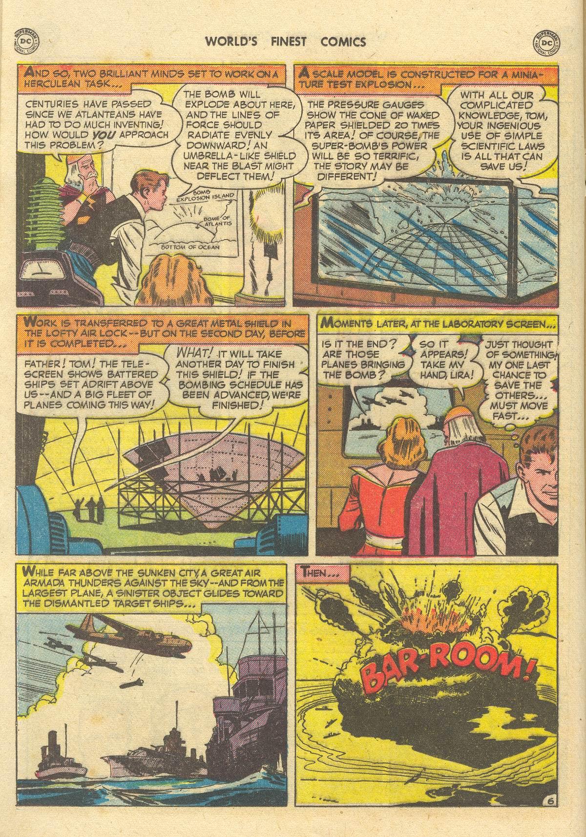 Read online World's Finest Comics comic -  Issue #51 - 34