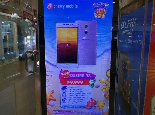 Cherry Mobile Desire R8; Octa Core Android Nougat w/ Dual Camera for Php9,999