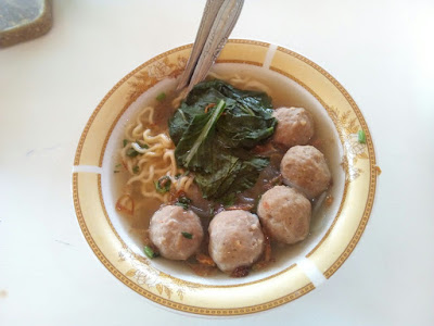 Mie Njerit Mie Pedas Level di Kendal