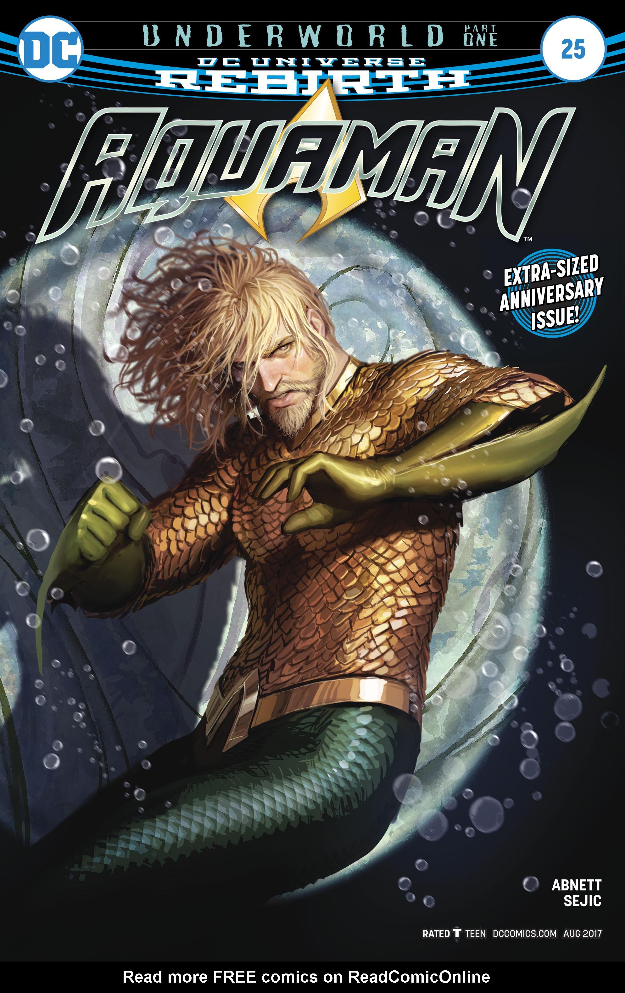 Read online Aquaman (2016) comic -  Issue #25 - 1
